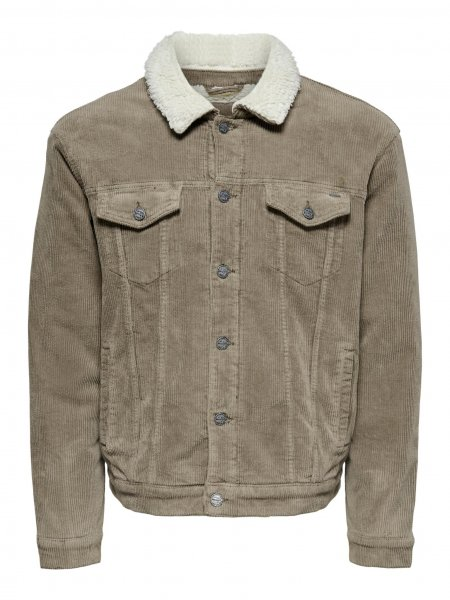 ONLY & SONS CORD JACKE 10627150