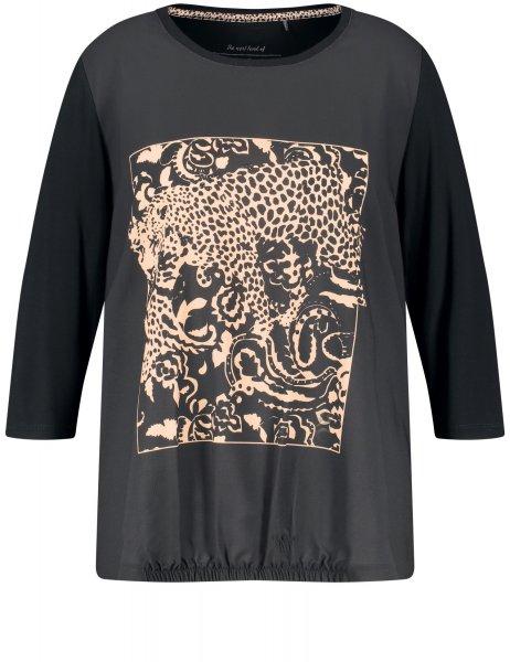 SAMOON Blusenshirt mit Animal-Print von SAMOON 10633107