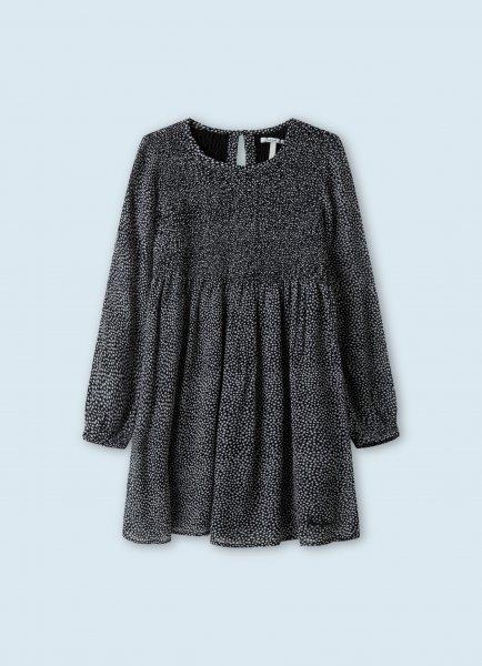 PEPE Babydoll-Kleid mit Sternenmuster 10626695