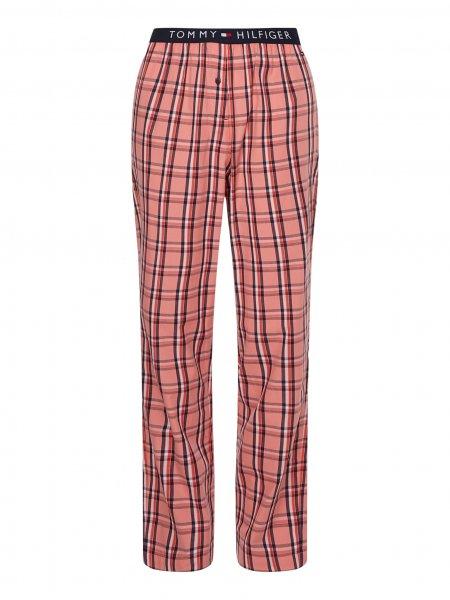 TOMMY HILFIGER Diese aktuelle Pyjamahose mit Stretch-Taillenbund und Logo-Print ist wie gemacht für