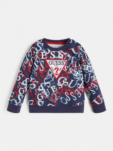 GUESS Sweatshirt mit Logoprint 10632967