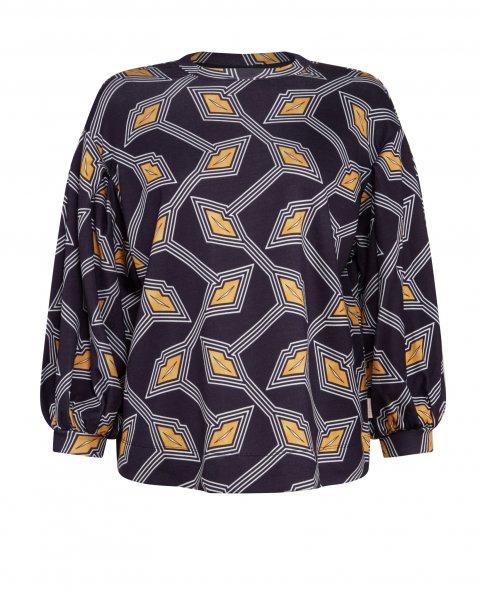 TED BAKER Sweatshirt mit Modernity Druck Lipsah 10602920