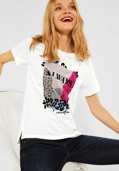STREET ONE Shirt mit Partprint 10638906
