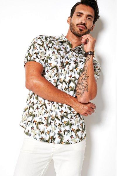 DESOTO Halbarm Jerseyhemd 10621170