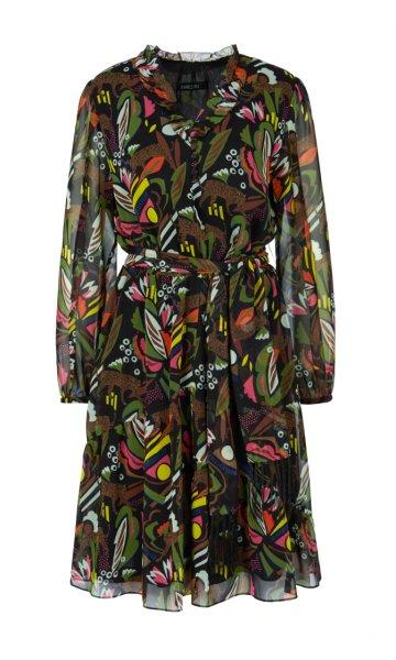 MARC CAIN Feminines Kleid mit Rüschen 10589526