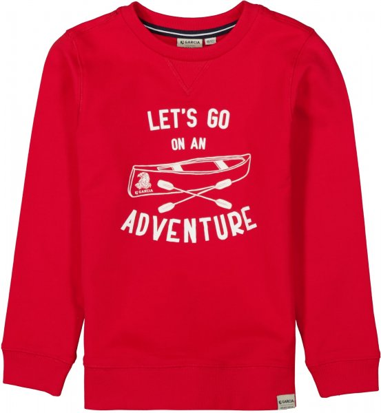 GARCIA Sweatshirt mit Print 10627672