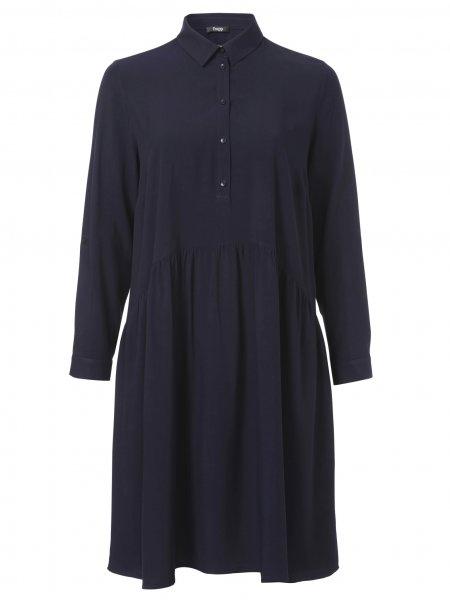 FRAPP Kleid mit Hemdkragen 10629334