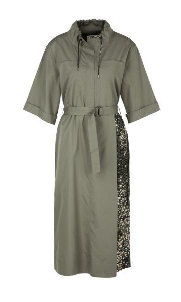 MARC CAIN Kleid mit Plissee-Einsatz 10606228