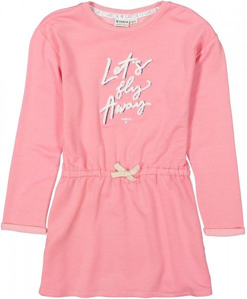 GARCIA Jersey Kleid mit Textprint 10627658