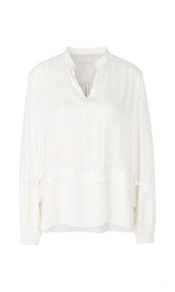 MARC CAIN Bluse mit Schößchen-Detail 10589601