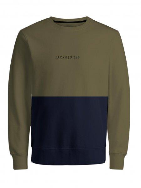 JACK&JONES Colourblock Sweatshirt 10627244