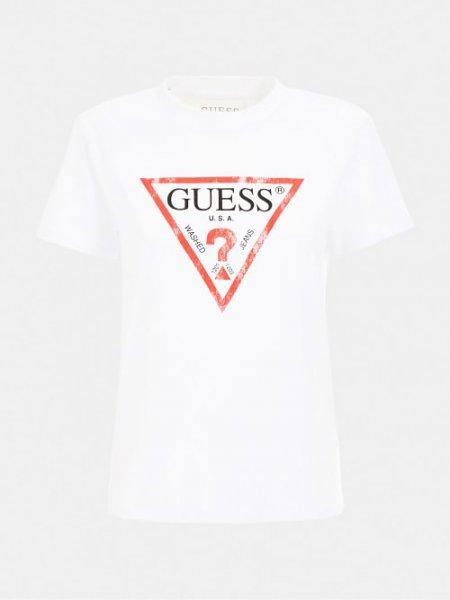 GUESS Shirt LOGO DREIECK 10632669