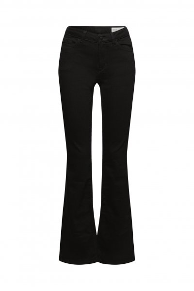 ESPRIT CASUAL Bootcut-Jeans aus Bio-Baumwoll-Mix 10628218
