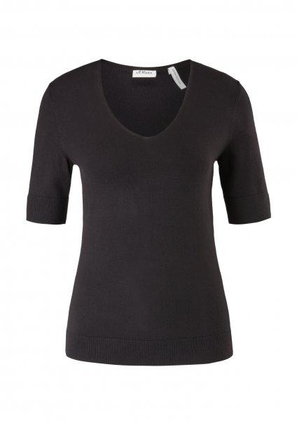 S.OLIVER BLACK LABEL Pullover aus Feinstrick 10640106