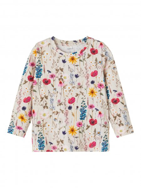 NAME IT Longsleeve mit Blumen-Print 10622345