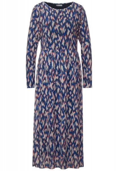 STREET ONE Midi-Kleid mit Ikat Print 10618156