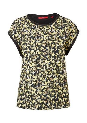 S.OLIVER Fabricmix-Shirt 10620523