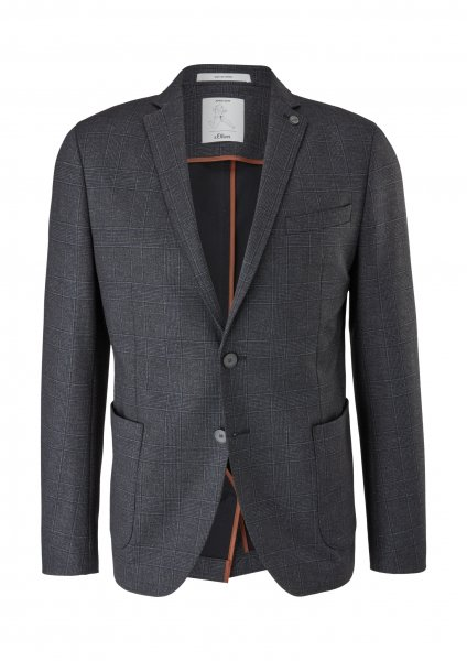 S.OLIVER BLACK LABEL Baukasten Sakko Jogg-Suit 10639908