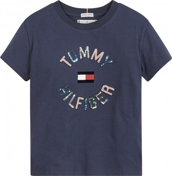 TOMMY HILFIGER Mädchen Sequins T-Shirt 10617517