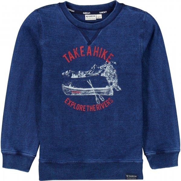 GARCIA Sweatshirt mit Print 10627644