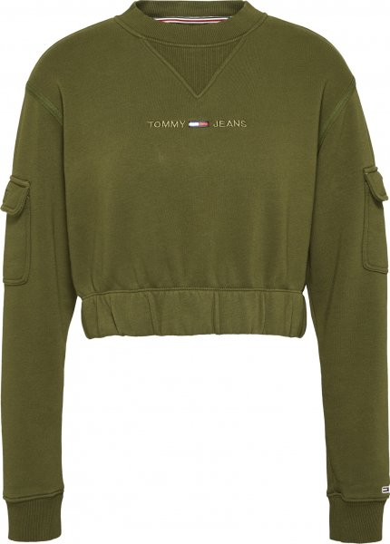 TOMMY JEANS Tommy Jeans Crop Utility Crew 10618774