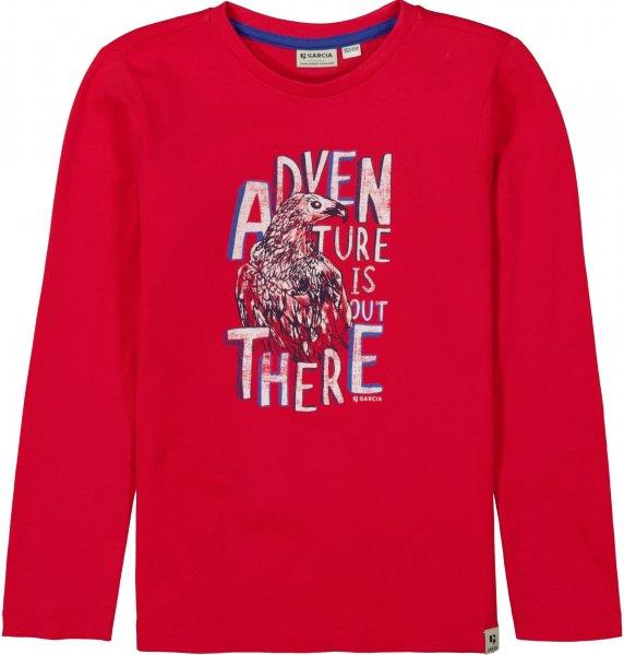 GARCIA Sweatshirt mit Print 10627641