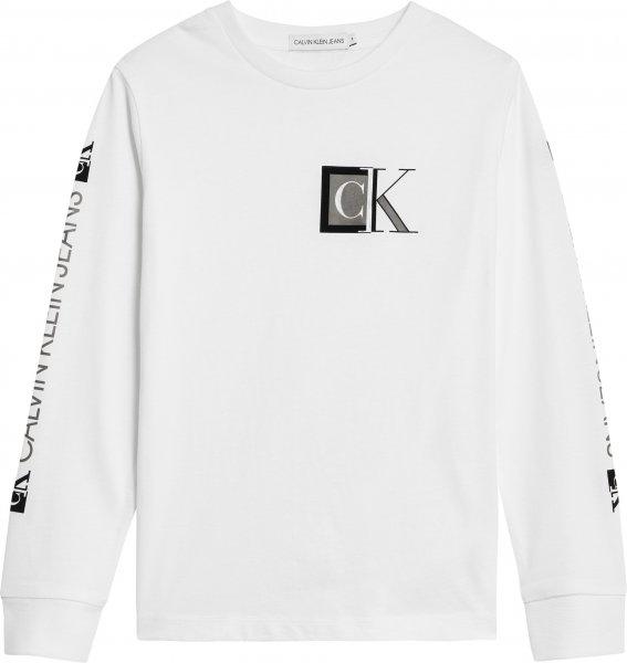 CALVIN KLEIN Langarmshirt aus Bio-Baumwolle 10624996