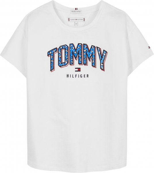 TOMMY HILFIGER T-Shirt mit Satin-Logo für Jungen 10601363