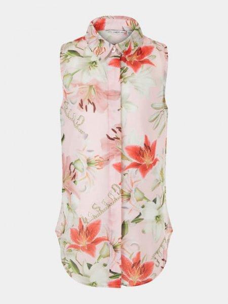 GUESS Chiffon Bluse mit Floral Print 10632026