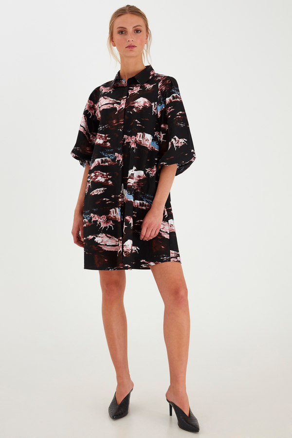 ICHI Kleid 10580614   Kleider   Damen   Wöhrl Onlineshop