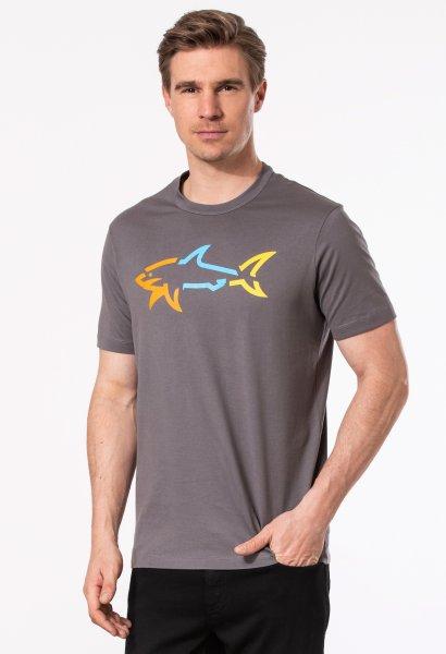 PAUL & SHARK T-Shirt 1/2 Arm bunter Hai 10601879