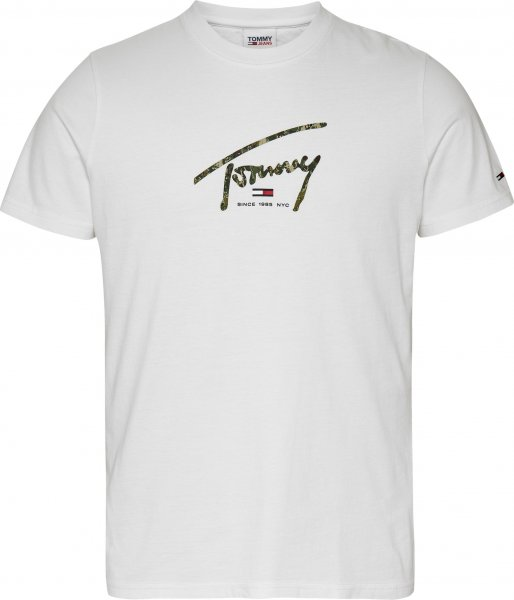 TOMMY JEANS TJM HAND WRITTEN LINEAR LOGO TEE 10618926