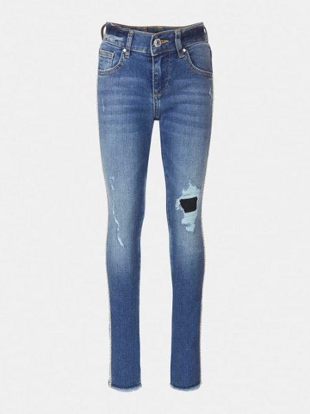 GUESS Jeans mit Kontraststreifen 10631990