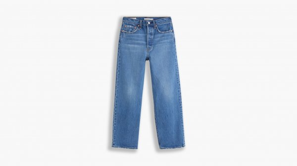 LEVI'S Ribcage Straight Ankle Jeans 10623534