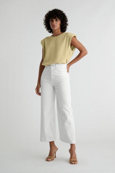 GINA TRICOT Idun Cropped Wide Jeans 10616706