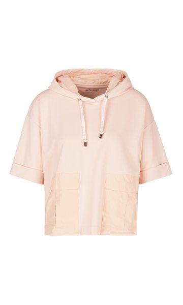 MARC CAIN Verkürztes Kapuzen-Sweatshirt 10606207