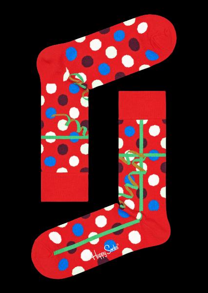 HAPPY SOCKS 3er Pack Weihnachtsstrümpfe 10605309