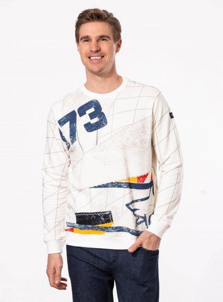 PAUL & SHARK Sweatshirt R-Neck multicolor 10601858