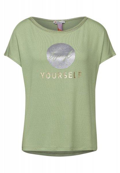 STREET ONE Shirt mit Frontprint 10621256