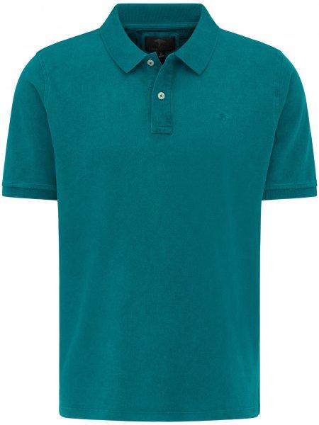 FYNCH HATTON Poloshirt 1/2 Arm Garment Dyed 10601652