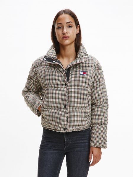 TOMMY JEANS TJW MINI CHECK PUFFER 10626869