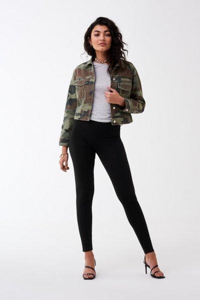 GINA TRICOT Basic long leggings 10611543