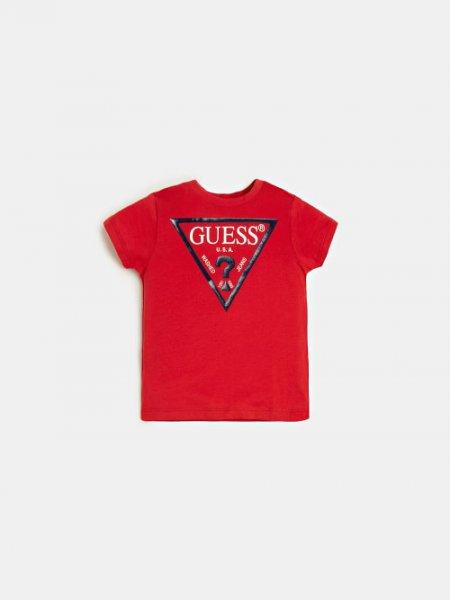 GUESS Basic Shirt mit Logo 10632064