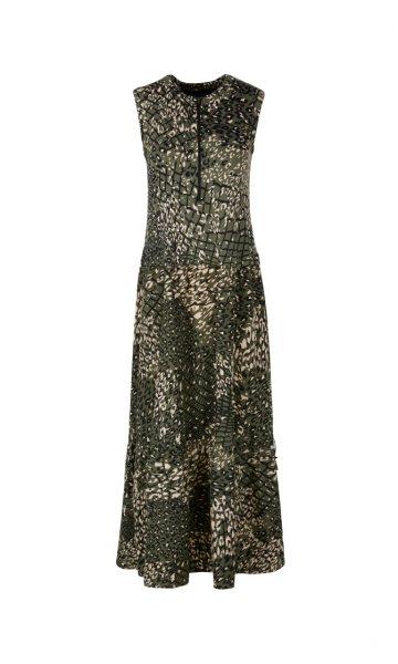 MARC CAIN Kleid aus Materialmix 10606211