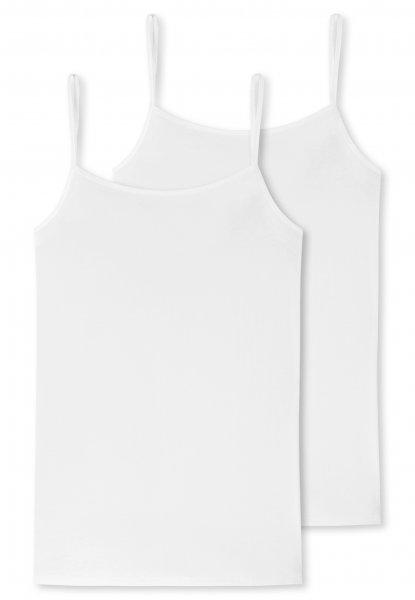 SCHIESSER Cotton Essentials2 PACK Spaghettitop 10650810
