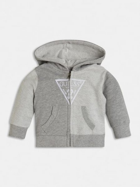 GUESS Sweatshirt Jacke mit Logo 10632086