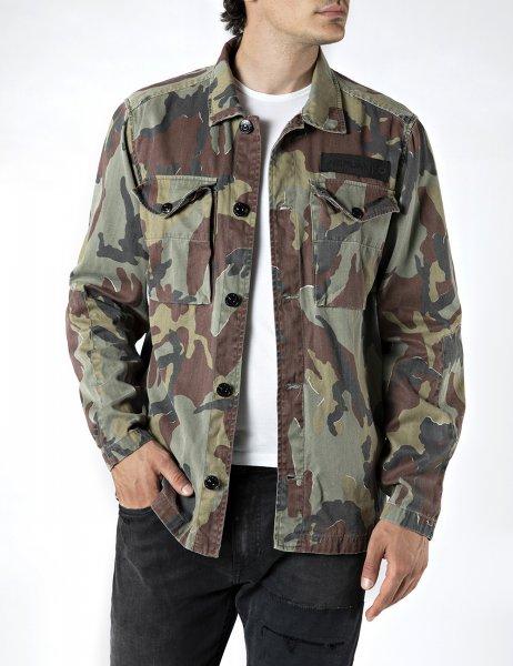 REPLAY Camouflage Jacke 10601831