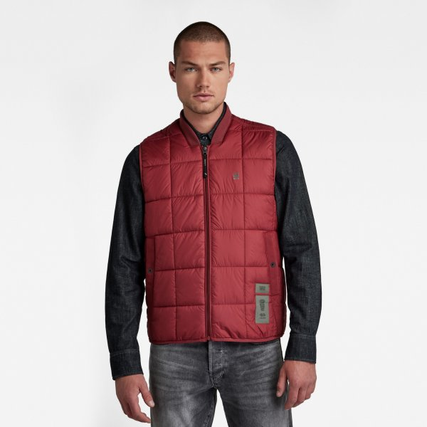 G-STAR Meefic Square Quilted Weste 10636366