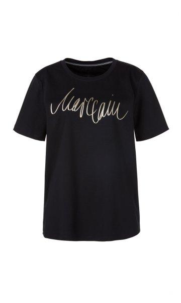 MARC CAIN Logo-Shirt mit Handwriting-Print 10589495