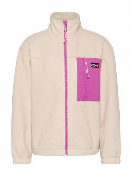 TOMMY JEANS Oversized Fit Sweatshirt aus Fleece 10626908